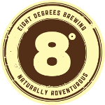 Eight Degrees Brewing logo